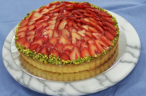 Stawberry Flan