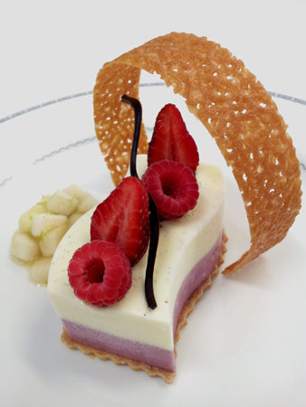 Strawberry Vanilla Pannacotta