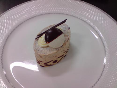 White Chocolate Esspresso Mousse