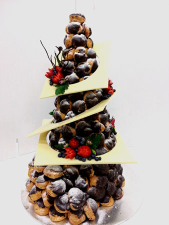 Chocolate Croquembouche