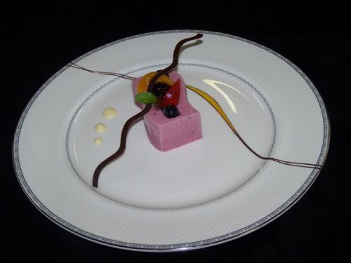 Berry Yoghurt Pannacotta