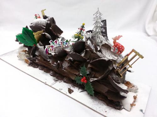 Dark Yule Log