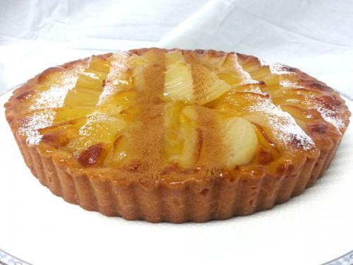Butterscotch Apple Flan