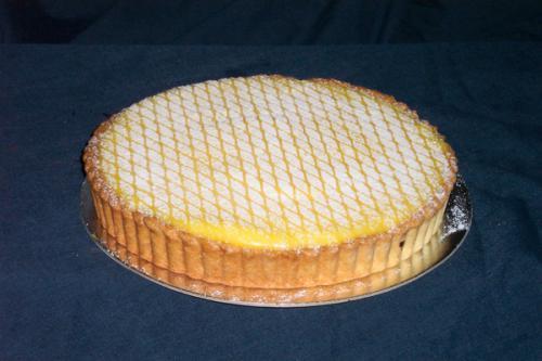 Lemon myrtle Flan